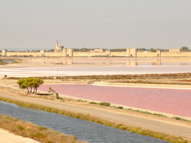 Week-end en Camargue : vue sur Aigues-Mortess