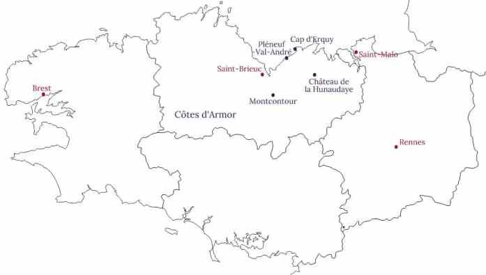 Région de Pléneuf Val André