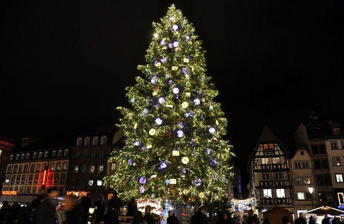 Sapin de Noël de Strasbourg - Blog La Marinière en Voyage