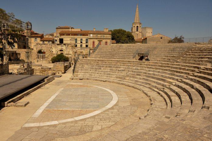 Théâtre d'Arles - Blog La Marinière en Voyage
