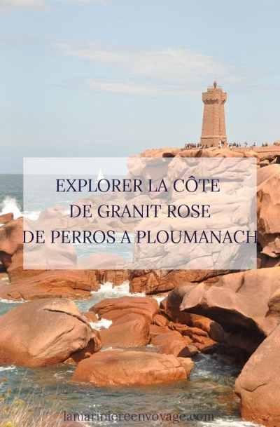 Explorer la Côte de Granit rose - La Marinière en Voyage