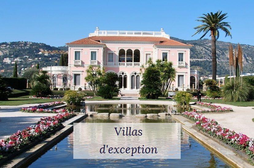 Villas d'exception