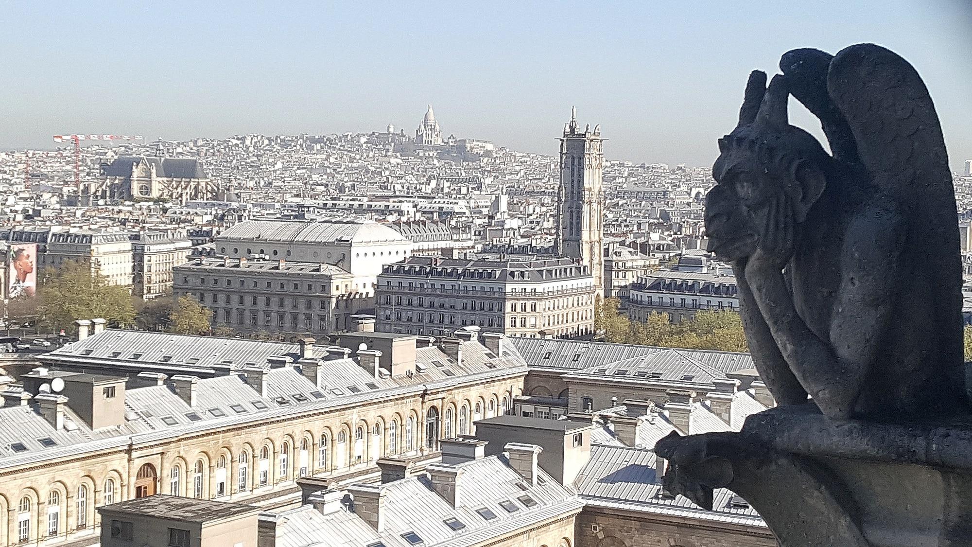 Gargouilles de Notre Dame de Paris