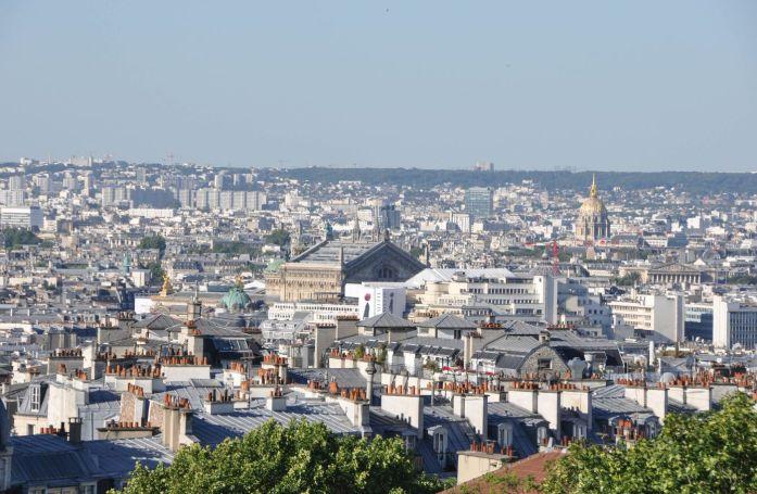 Panorama depuis Montmartre - Blog La Marinière en Voyage