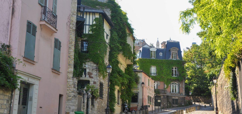 Maison rose de Montmartre - Blog La Marinière en Voyage