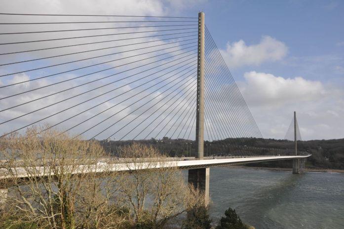 Pont à haubans de l'Elorn - Blog La Marinière en Voyage