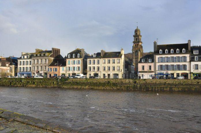 Quais de Landerneau - Blog La Marinière en Voyage