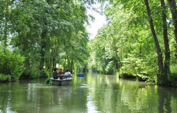 Barque du marais poitevin - Blog La Marinière en Voyage