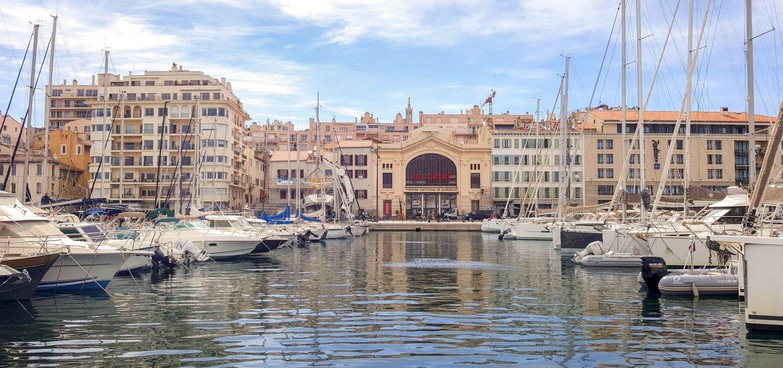 Vieux port de Marseille - Blog La Marinière en Voyage