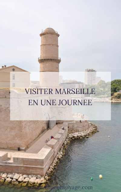 Visiter Marseille en 1 jour - Blog La Marinière en Voyage