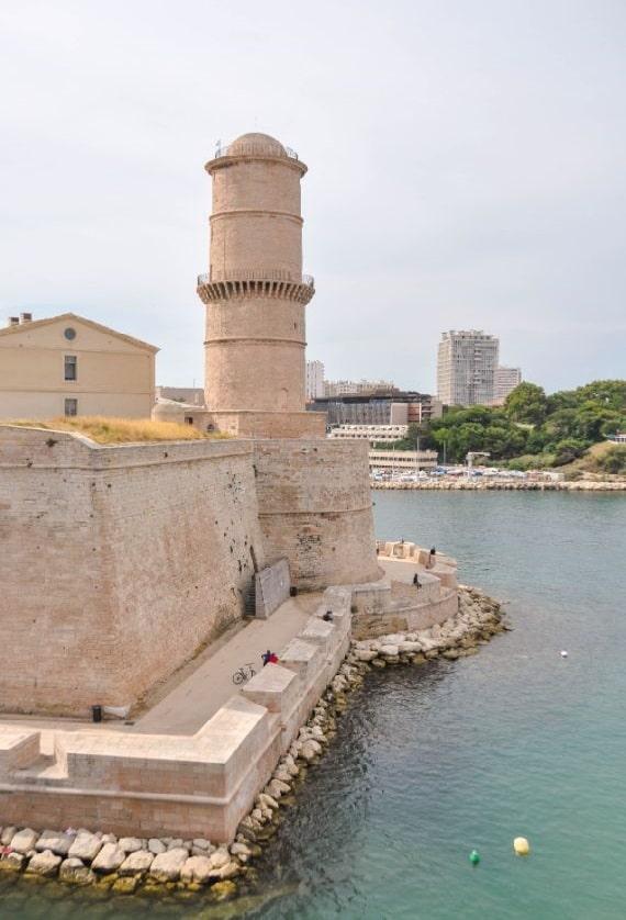 Fort Saint Jean Marseille - Blog La Marinière en Voyage