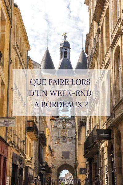 Week-end à Bordeaux - cité du vin - Blog La Marinière en Voyage