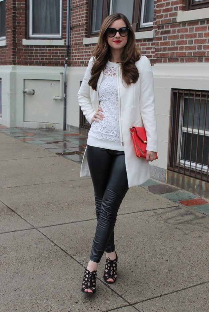 White Lace & Black Leather