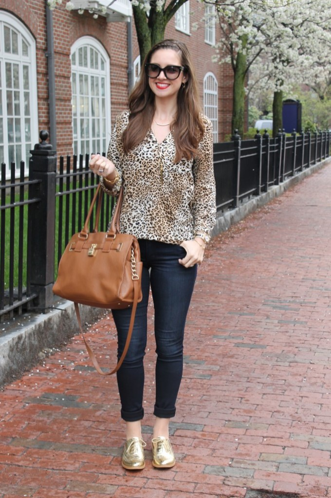 Leopard & Gold