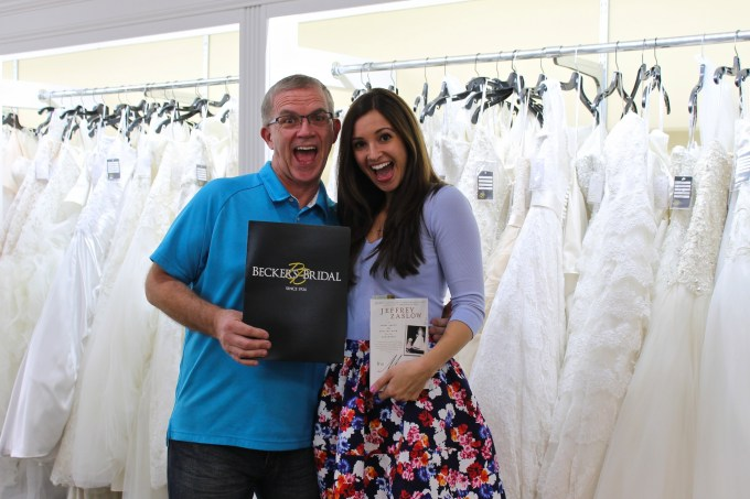 Wedding Dress Shopping with Dad