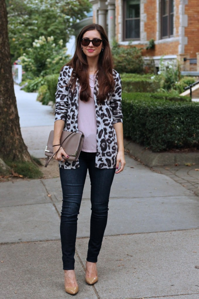 Casual Friday: Neutral Leopard Sweater