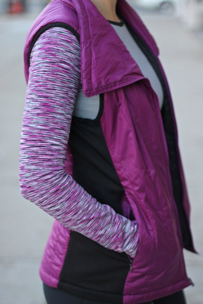 Active on the Streets: Purple  Activewear