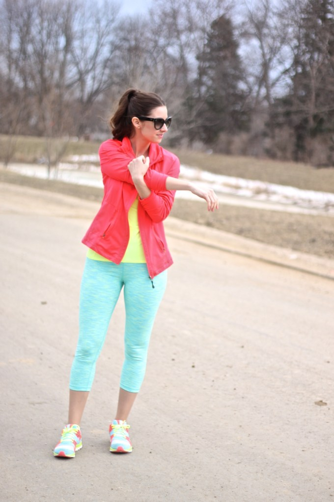 Marshalls #FabFound Activewear in Spring Brights