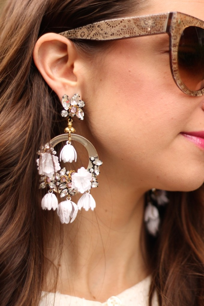 J.Crew Garden Party Statement Earrings