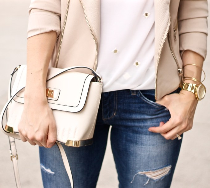 Ripped Jeans and Neutrals