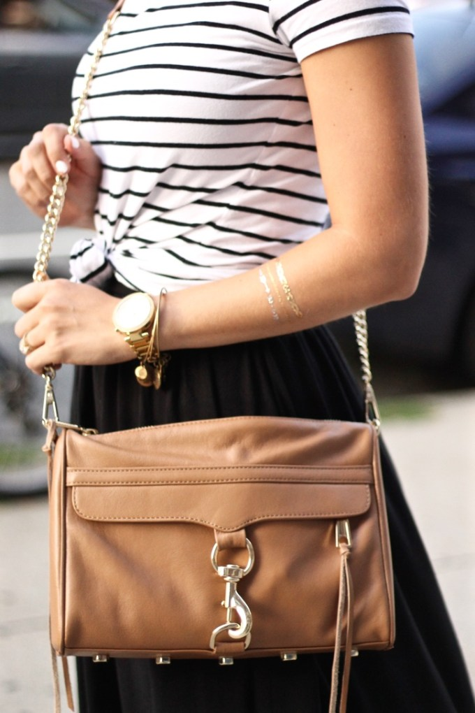 Tan Rebecca Minkoff Crossbody Bag