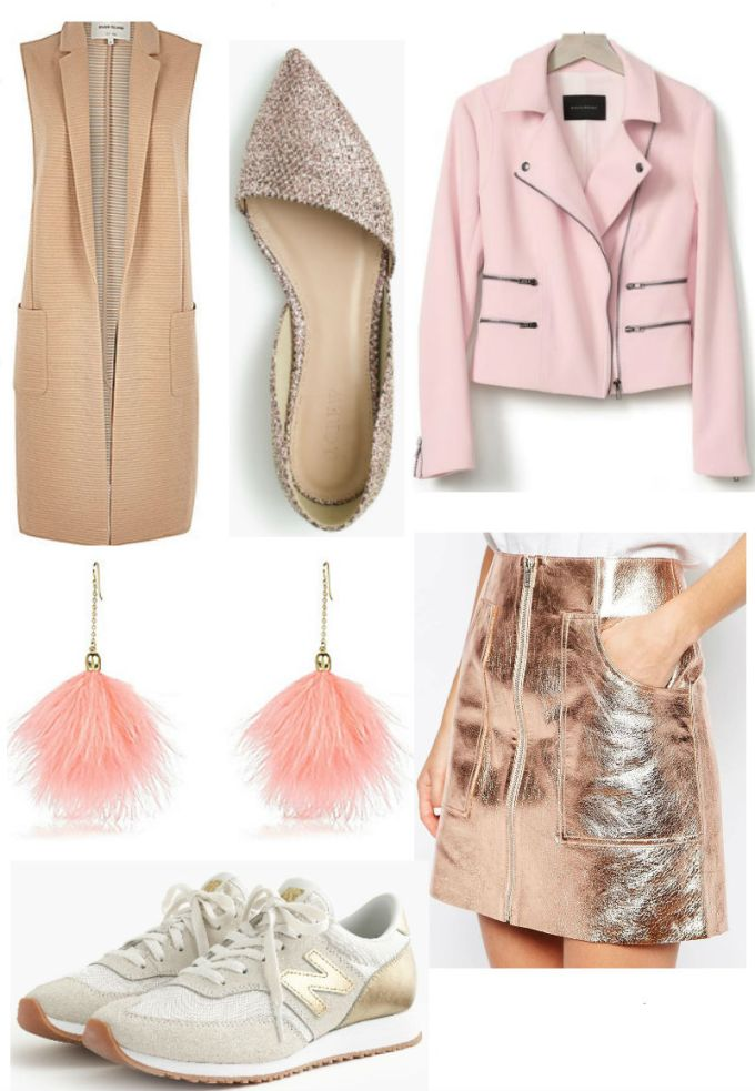Pink and Gold Fall Transition Pieces on Sale Labor Day