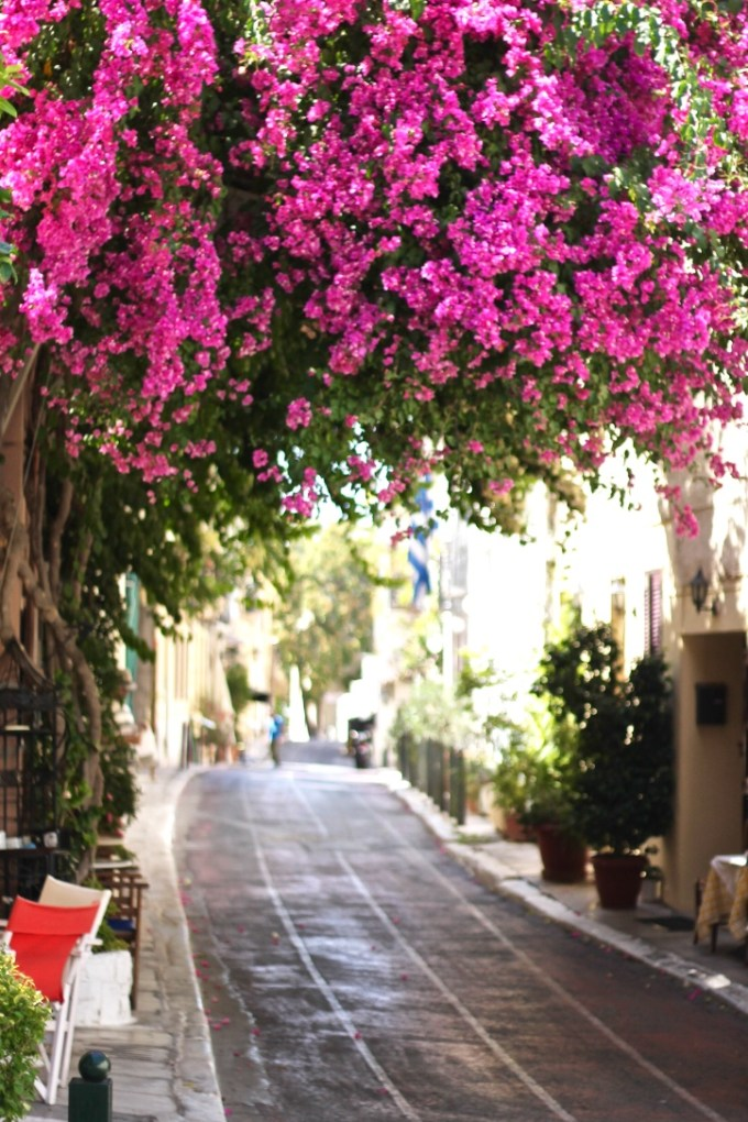 Side-street, Athens, Greece