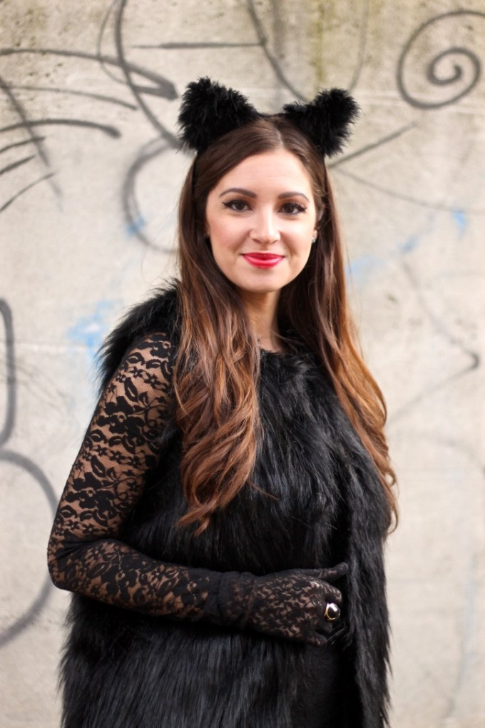 Easy and Cheap DIY Halloween Easy and Cheap DIY Halloween Black Kitty Cat Costume