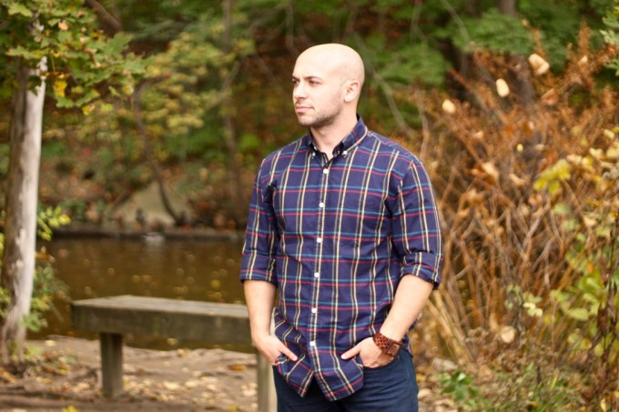 J.Crew Factory Plaid Workshirt in Tattersall