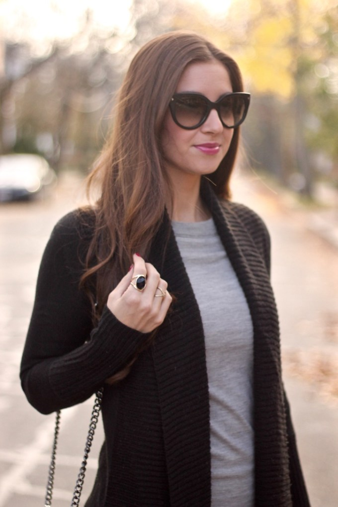 Black and Grey Layers