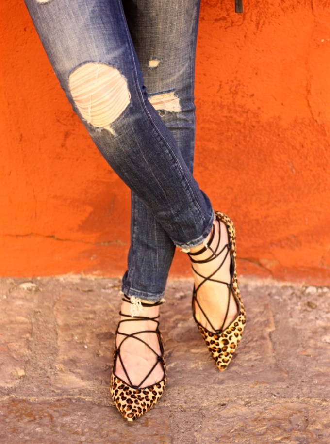 La Mariposa Trave to San Miguel de Allende, Mexico: Leopard Flats and Ripped Jeans