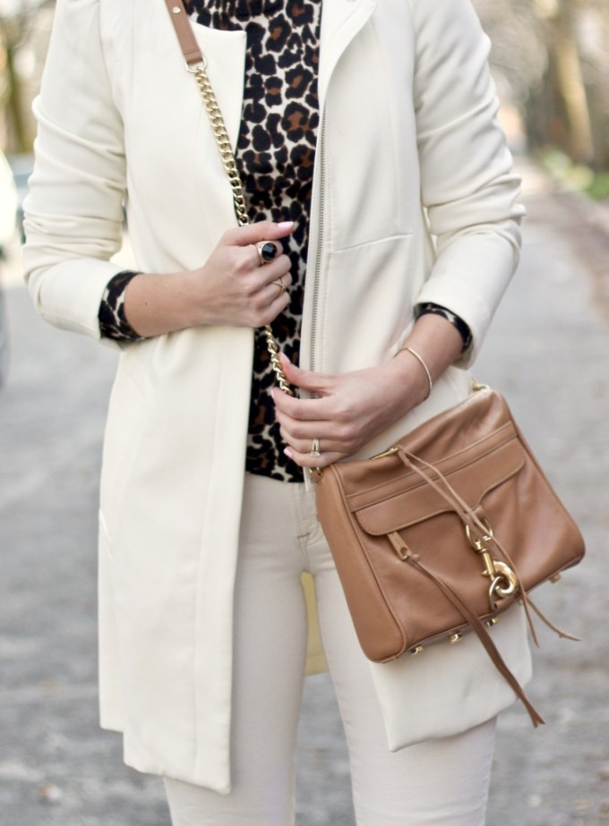 Classy & Stylish Ways to Wear Animal Print: Cream & Leopard