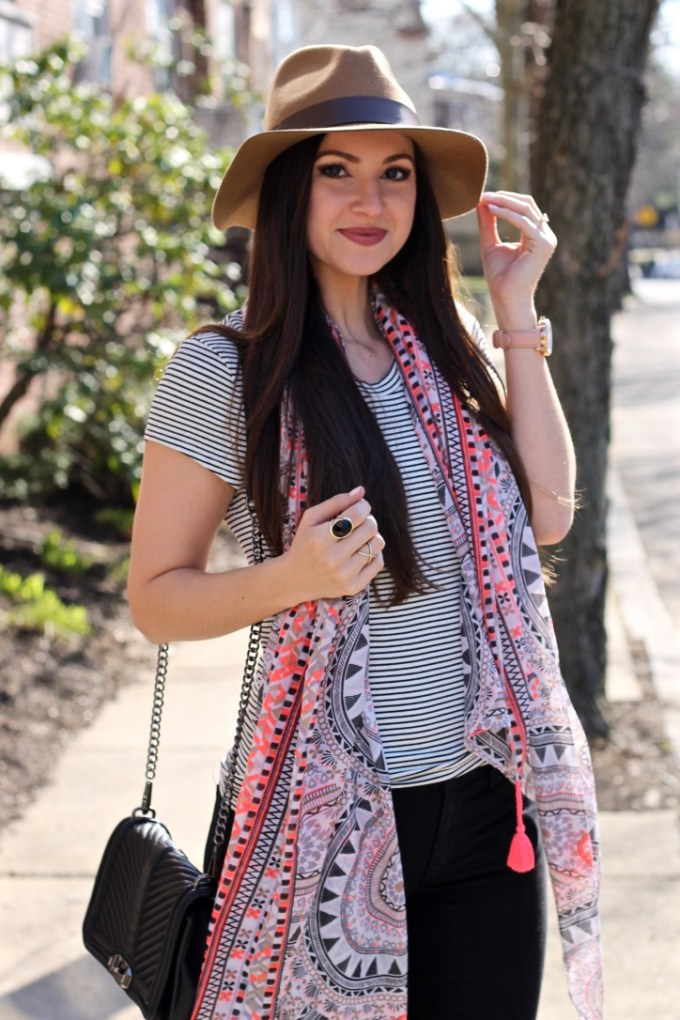 Styling a Fedora in Spring by La Mariposa