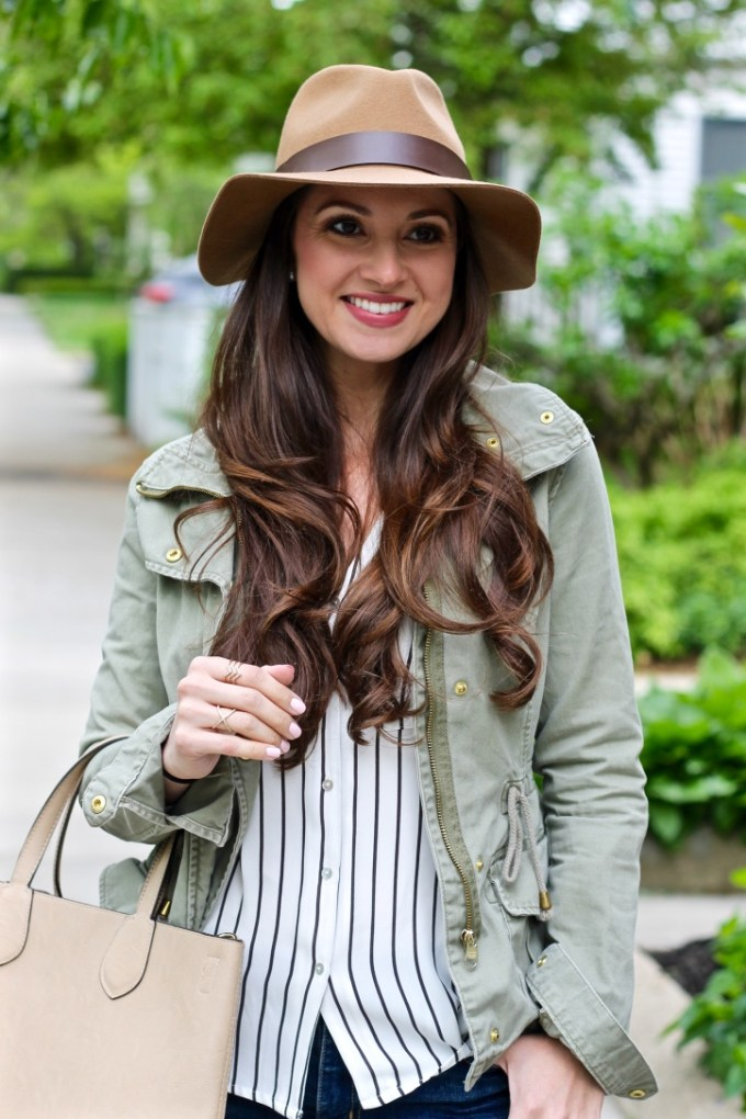 H&M Tan Wool Fedora