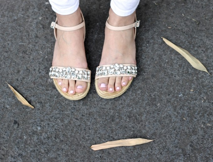 Embellished Dune London Espadrilles