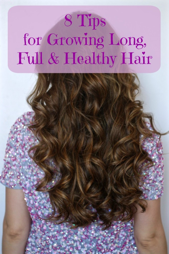 Tips for long, full & healthy hair
