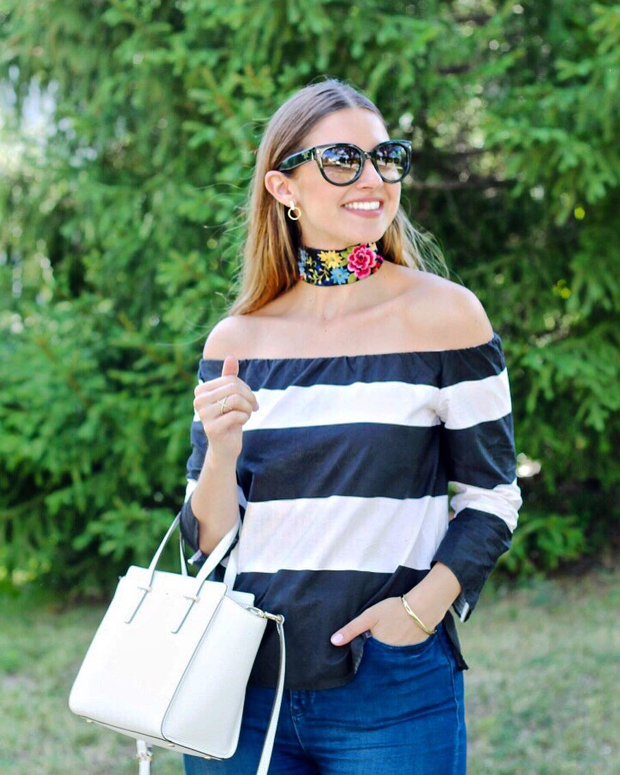 Big chokers amp stripes  Mi gargantilla favorita! httpliketkit2scbh liketkithellip
