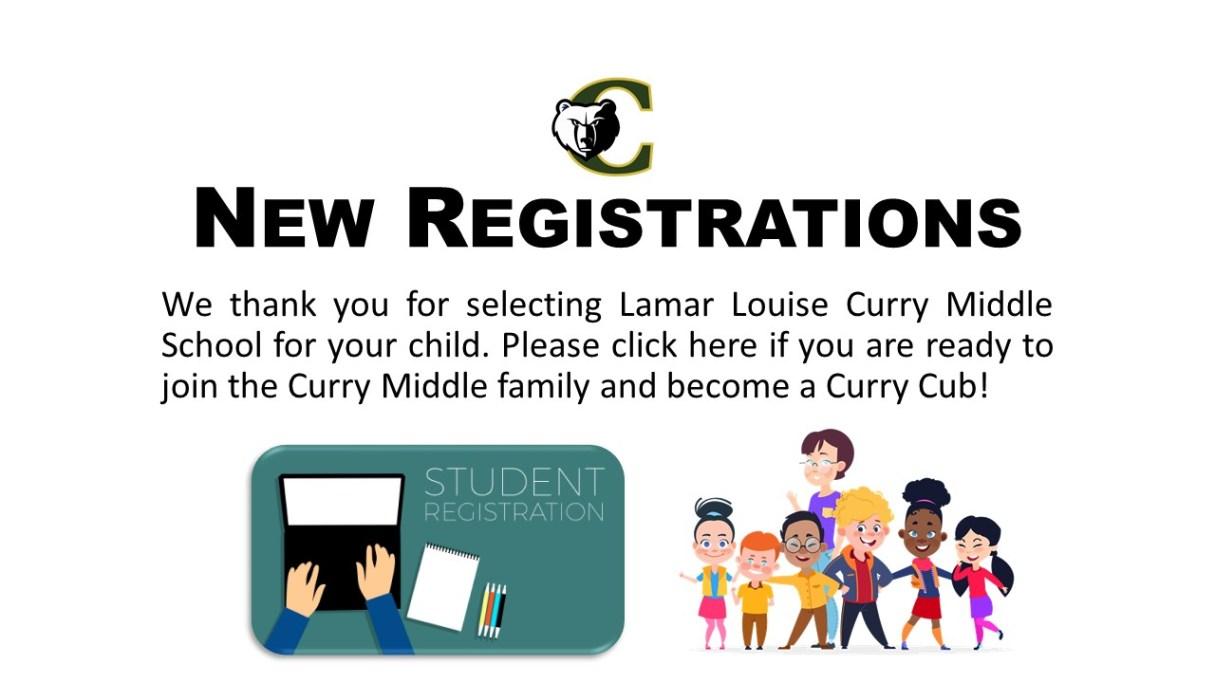 New Registration Button