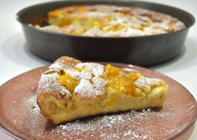 Gratin fruits fromage blanc vanille