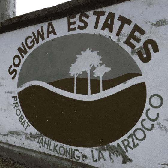 Songwa Estates Sign