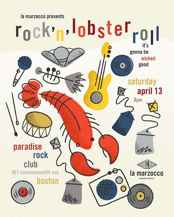 Rock n Lobster roll