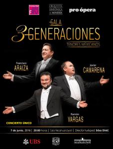 Gala 3 generaciones