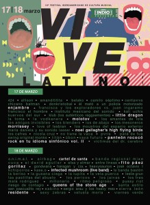 Todo listo para el Vive Latino 2018