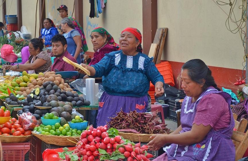 Día de plaza en Tlacolula de Matamoros