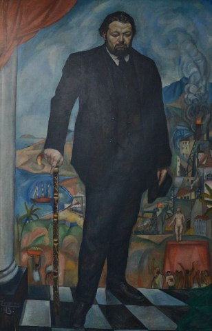 Genio, figura y silueta: de Diego Rivera El lado humano
