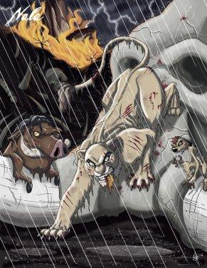 """Nala Le Roi Lion """"The lion king"""""""
