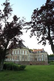 Château de côté Lamas du Parc, Château de Courcelles-sous-Moyencourt