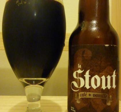 La Stout Café + Vanille