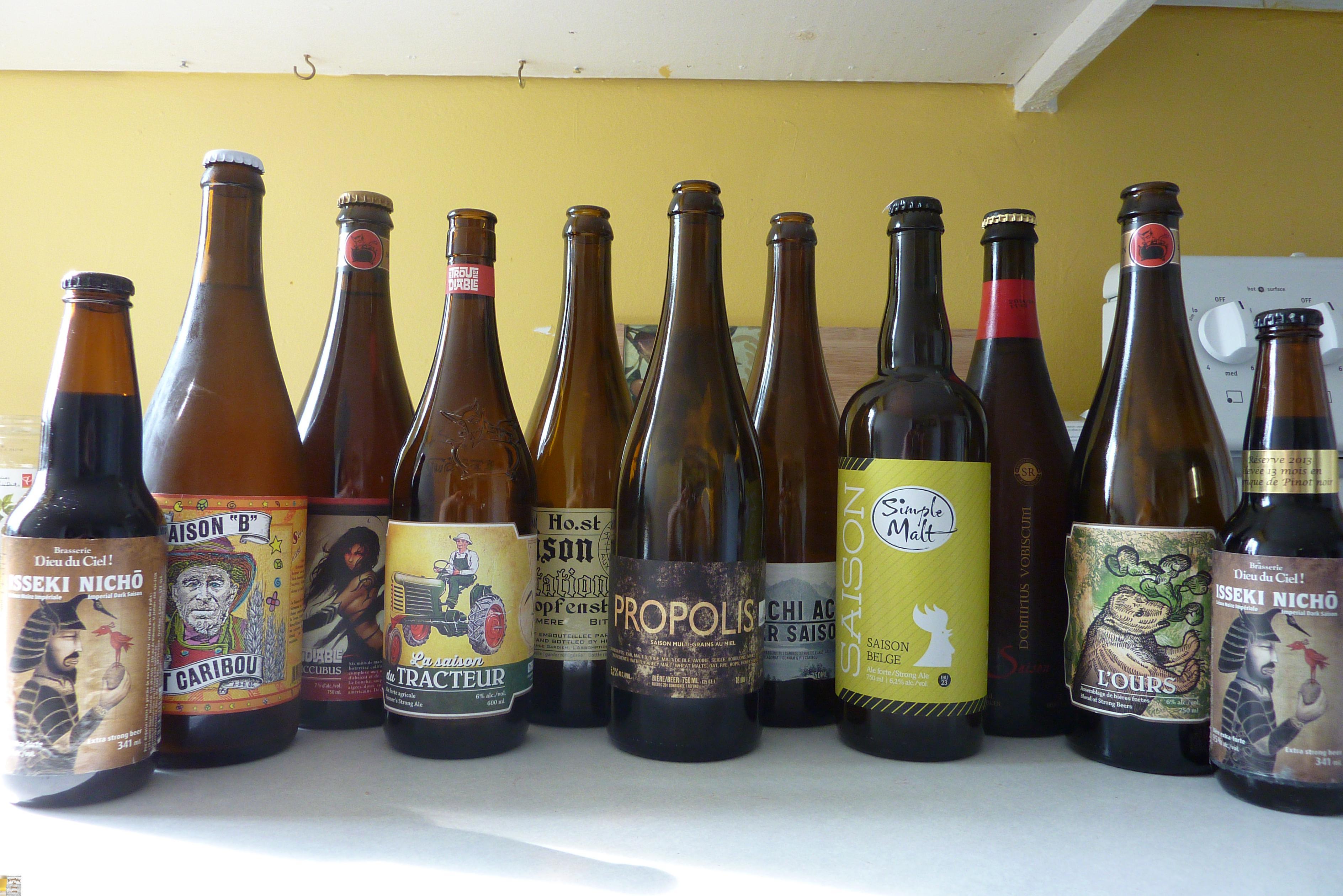Styles de bières: La Saison