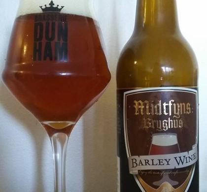 Barley Wine de Midtfyns Bryghus (Danemark)
